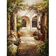 Лигурия. В саду. фото
