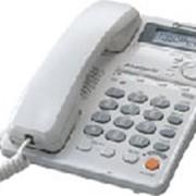 Комфортный телефон с дисплеем, с возможностью громкой связи, Panasonic KX-TSС35RU фото