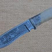 Нож из дамасской стали №42 фото