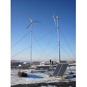 Ветро- солнечная электростанция фото