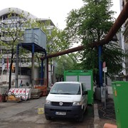 Вакуумный подъемник для ремонтных работ водоканала и промышленных предприятий фото