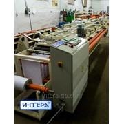 Автоматический станок для обандероливания (оклейки этикеткой) логов туалетной бумаги, Оборудование для производства туалетной бумаги фото