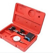 Индикатор часового типа Forsage F-01729 с магнитной стойкой (0-10мм, погрешность-0,01мм), в кейсе фото