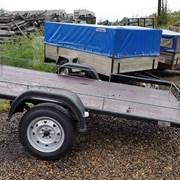 Прицеп для легкового автомобиля Титан Площадка, длина 2 метра фото