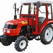 Мини трактор Dongfeng 244+ кабина + Фреза фото