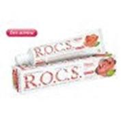 ROCS Зубная паста Облако нежности Роза без мяты ROCS - Adult 470760 74 г фото