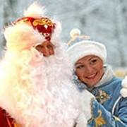 Услуги Дед мороз и снегурочка в школу фото