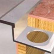 Алюминиевый и латунный Z-образный профиль. Алюминиевый профиль АПЗ изпользуется для стыковки гладких поверхностей при укладке плитки. Цвет: серебро, золото. Длина 2.7 м. Латунный плиточный профиль ЛПЗ. Длина 2.5 м. фото