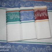 Полотенце кухонное 35*75 лен / махр фото