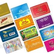Изготовление пластиковых карт, смарт-карт, бесконтактных карт фото