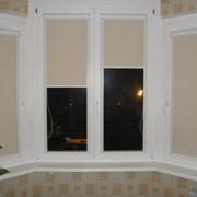 Рулонные шторы открытые и кассетные фото