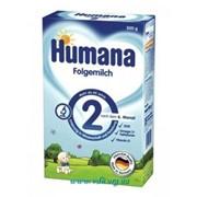 Смесь молочная Humana 2, 300г+пребиотик (от 6 до 12мес) фото