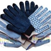 Перчатки трикотажные с ПВХ покрытием 218 текс 5-нит фото