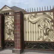 Ворота 25 фото