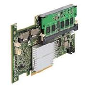 DM255 Контроллер SAS RAID Dell PERC5i 256Mb BBU LSISAS1068 Int-2хSFF8484 (32-pin) 8xSAS/SATA RAID5 U300 PCI-E8x фото