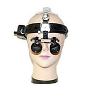 Комплект :Лупы бинокулярные (шлем) Optic x2,5-420HL-3 фото