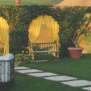 Устройство набивных дорожек в саду. Проектирование и реализация высококачественного ландшафтного дизайна. фото