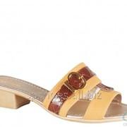 Сабо женские 7549-1048, коричневый фото