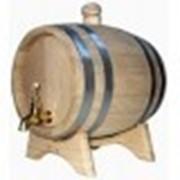 Бочка дубовая 5 литров. фото