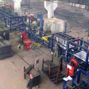 Линия изготовления крышек люков полувагонов, оборудование для производства полувагонов, пр-во Техвагонмаш, Украина фото