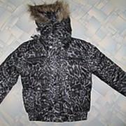 Куртка теплая на мальчика 6-12 лет фото