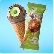 Мороженое Фисташка фото