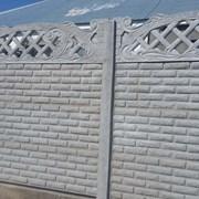 Забор бетонный наборной (еврозабор) в Херсоне и об фото