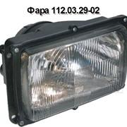 Фара 112.03.29-02, исполнение с ручным корректором светового пучка фото