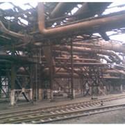 Ремонт трубопровода промышленного фото