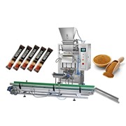 Автомат для фасовки в стик пакет сахара, соли, специй фото