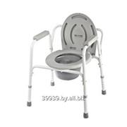 Кресло-туалет инвалидное фиксированное до 100 кг фото