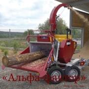 Измельчитель (дробилка) древесных отходов фото