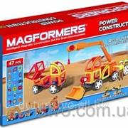 Набор строительная техника magformers фото