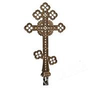 Крест чугунный на могилу КС2 фото