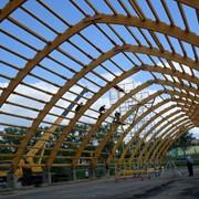 Деревянные гнутые клееные конструкции фото