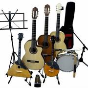 Торговля музыкальными инструментами фото