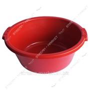 Таз полиэтиленовый не пищевой 12л цветной круглый №438425 фото