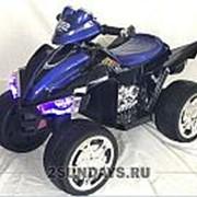 Детский электроквадроцикл BARTY M004MP синий глянец фото