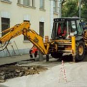Установка бортовых камней Демонтаж и монтаж бортового камня фото