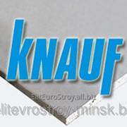 Гипсокартон стеновой KNAUF (КНАУФ) 12.5*1200*3000 (ГКЛ) фото