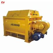Двухвальный бетоносмеситель JS3000 (180 м³/час)  фото