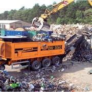 Шредеры для мусора, дерева, пластмассы, ТБО серииDW фото