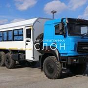 Вахтовый автобус на шасси Урал Бескапотный 4320-4971-80Е5 (22 места) фото