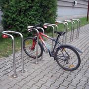 Велопарковки из нержавейки 2 фото