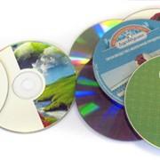 Печать на дисках cd и dvd фото