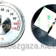 Термометр осевой 0-110° ТБ-04 на клейкой основе фото