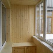 Утепление и отделка балкона без шкафов фото