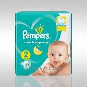 Детские подгузники Pampers New Baby Dry 2 фото