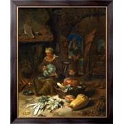 Картина Интерьер кухни, Кальф, Виллем фото