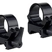 Кольца быстросъемные - рычаг QRW на Weaver 26 мм средние матовые фото